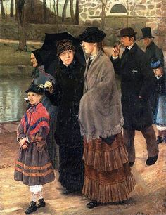 On The Way To Church ~ Lauritz Andersen Ring