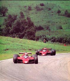Grand Prix d'Autriche - Österreichring 1979 - Nelson Piquet & Niki Lauda (Brabham-Alfa Romeo) - AUTOhebdo août 1979.