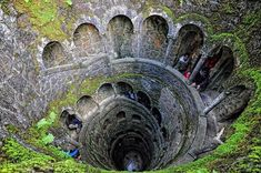 Wow, i guess i need to go to Portugal next. The Inverted Tower - Sintra, Portugal. Sintra Portugal, Places To Travel, Places To See, Travel Destinations, Travel Europe, Travel Tips, Travel Ideas, Europe Tourism, Iceland Travel