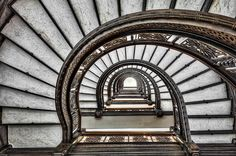famous stairways and staircases | ... Building Spiraling Staircase - Chicago | Flickr - Photo Sharing