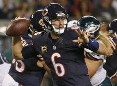 QB Jay Cutler out for Bears WR Alshon Jeffery in