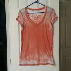 Maurices tee Peach colored tee Maurices Tops Tees - Short Sleeve