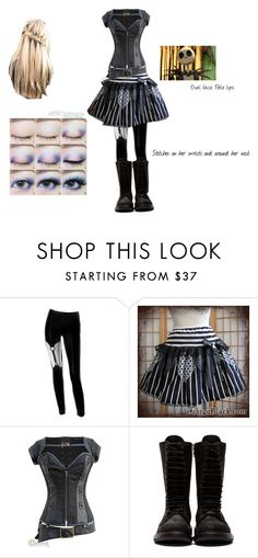 """""""Athena"""" by sage-pressley ❤ liked on Polyvore featuring Chicnova Fashion, Rick Owens and Disney"""