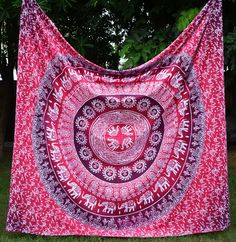 7 Days Delivery Cor's BIG Red Ombre Mandala Hippie Tapestry, Hippie Wall Hanging Tapestries, Bohemian Tapestries, Queen Mandala Home Decor Dorm Tapestry, Indian Tapestry, Bohemian Tapestry, Mandala Tapestry, Tapestry Wall Hanging, Hippie Tapestries, Mandala Throw, Bohemian Bedspread, Mandala Art