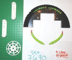 > > > $13.88 < < < #missiontomars #legospace LEGO Space Mars MB-01 Eagle Command Base set 7690 58846 58843 4285 Green Tail  #LEGO