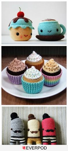 So CUTE!  I wish I had the talent to make these... Liz De Waard, my sister, would be great at this :)