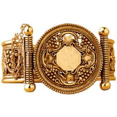 Byzantine Vine Leaf Cuff - Bracelets - Jewelry - The Met Store