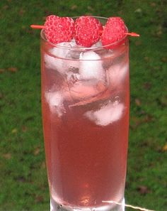 Pink Elevator  2 oz. X-Rated Fusion Liqueur   1 oz. Stoli Vanilla Vodka   .5 oz Creme De Noyaux   3 oz. 7-Up   Raspberries to garnish     Pour all of the ingredients into an ice filled Collins glass. Give it a good stir, and garnish with some Raspberries. It's simple, it's delicious, it's the Pink Elevator.