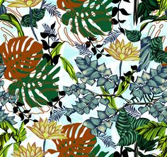 #textile #pattern #jungle