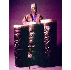 """In college, as I was gravitating more from political science to music, I invariably listened constantly to the first-ever African drum LP recorded in stereo: """"Drums of Passion"""" by master drummer and Philosophy PhD., Michael Babatunde Olatunji.  Through one of those chance situations of """"being in the right place at the right time with the right cats"""", I was called for an audition for Olatunji's new African-jazz band.We hit it off right away and after touring the USA, remained friends for years, ."""