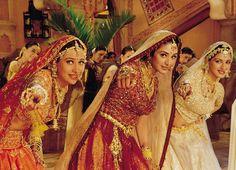 cool Beautiful Bollywood Onscreen Radhas in Many Avatars! Bollywood Makeup, Bollywood Wedding, Vintage Bollywood, Bollywood Actress, Indian Bridal Fashion, Indian Wedding Outfits, Bridal Wedding Dresses, Bridal Style, Bollywood Images