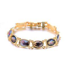 Multi Saints Gold Electroplated Bracelet