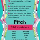 This poster is part of a series of posters highlighting the elements of music.  Posters can be used in introduce or reinforce pitch at a variety of...