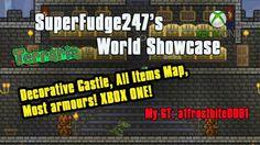 SuperFudge247's Xbox One Terraria Showcase   All Items map, Decorative C...