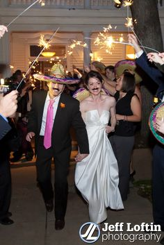 Fun Fiesta Wedding