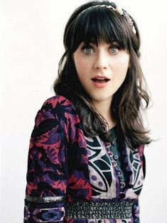 Quirky indie fashion queen! Zooey Deschanel