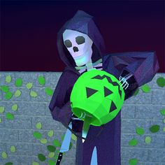 Trending GIF halloween skeleton reaper pour jack o lantern knives Halloween Gif, Halloween Skeletons, Halloween Pictures, Spirit Halloween, Vintage Halloween, Halloween Night, Funny Skeleton, Skeleton Art, Spooky Memes