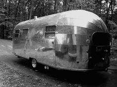 1950 AirStream Flying Cloud - classic travel trailers