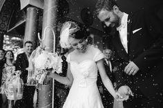 Happily newlyweds
