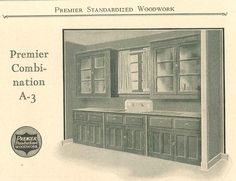 images of 1900 kitchen sinks | Kitchen cabinetry with sink, from Premier Standardized Woodwork ...