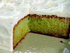 Key Lime Cake Recipe : Trisha Yearwood : Food Network Best site I've found on the subject! Frosting Recipes, Cake Recipes, Dessert Recipes, Fruit Dessert, Lime Cake Recipe, Key Lime Cake, Banana Pudding, Pudding Cake, Banana Bread