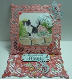 Die Cut Cards, Marianne Design, Big Shot, Decorative Boxes, Frame, Card Ideas, Home Decor, Cards, Picture Frame