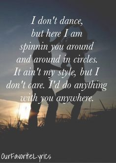 I Don't Dance - By: Lee Brice