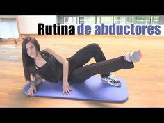 """Rutina de ejercicios de abductores """"10MINUTOS"""""""