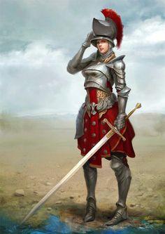 ArtStation - knight, Kyoungrok Baek