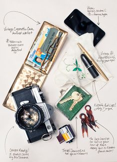 """There is something beautiful in the everyday life we decide to create for ourselves and the tools we carry tell a story about who we are. I'm glad to capture that simplicity."" What is in Jamie Beck's Purse"