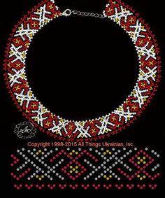 Photo Diy Necklace Patterns, Beaded Bracelet Patterns, Beading Projects, Beading Tutorials, Beading Patterns Free, Bead Jewellery, Handmade Beads, Loom Beading, Bead Art