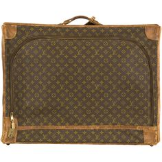 Jayson Home VINTAGE LOUIS VUITTON SOFTSIDE SUITCASE found on Polyvore