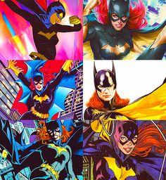 Batgirl Through the Comics Nightwing And Batgirl, Batwoman, Comic Books Art, Comic Art, Barbara Gordon, Batman Family, Comics Girls, American Comics, Dc Heroes