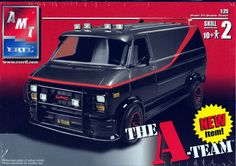 A-Team. The world is a better place because of Mr. T! (model cars, plastic models)