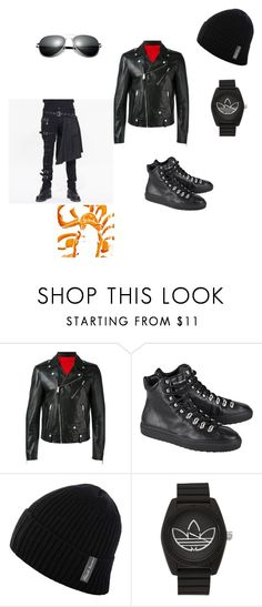 """""""badboy21"""" by earlfiy on Polyvore featuring Alexander McQueen, Dsquared2, adidas, men's fashion and menswear"""