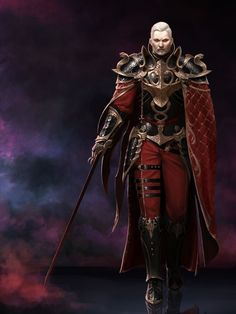 old fashioned medieval vampire Fantasy Male, Fantasy Armor, High Fantasy, Medieval Fantasy, Fantasy World, Character Concept, Character Art, Concept Art, Character Design