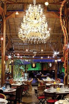 An iconic Ibiza restaurant to be sure... Bambuddha Grove, San Juan, Ibiza, Spain