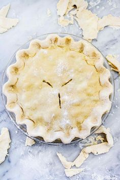 These are the secrets to making a no-fail, all-butter pie crust that won't slump or shrink and turns out tender and flaky every time. Best Pie Crust Recipe, All Butter Pie Crust, Pie Crust Recipes, Quiche Lorraine Recipe, Pie Tin, How To Make Pie, Beautiful Desserts, Pastry Blender, Homemade Pie