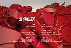 TEDx Bologna adv by Alessandro Brunetti, via Behance