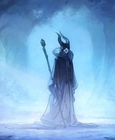 Maleficent Preliminaries by Nicholas Kole, via Behance