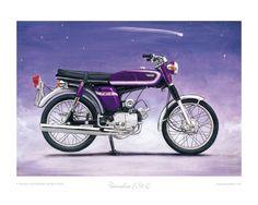 Yamaha FS1-E (Fizzy) - Limited Edition Collectors Print by Steve Dunn | eBay