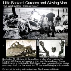 Little Bastard, Curacoa and Waving Man. Three more pieces of interesting history from this week in history! http://www.theparanormalguide.com/blog/little-bastard-curacoa-and-waving-man