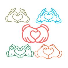 Cartoon Love Hands Cuttable Design Cut File. Vector, Clipart, Digital Scrapbooking Download, Available in JPEG, PDF, EPS, DXF and SVG. Works with Cricut, Design Space, Sure Cuts A Lot, Make the Cut!, Inkscape, CorelDraw, Adobe Illustrator, Silhouette Cameo, Brother ScanNCut and other compatible software.