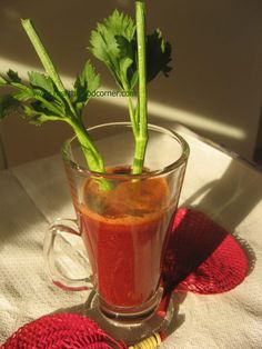 Juice against rheumatism