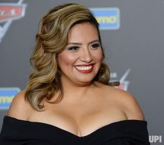 """Cast member Cristela Alonzo, the voice of Cruz Ramirez in the animated motion picture comedy """"Cars 3"""" attends the premiere of the film at…"""
