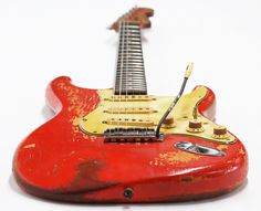 Vintage 1961 Fender Stratocaster in Fiesta Red