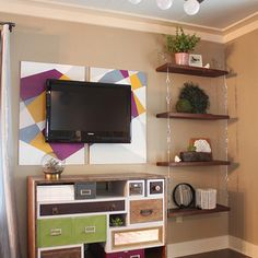 How to Make Suspended Shelves with Steel Cable and Turnbuckles, detailed instructions, DIY, Kitchen shelving, kitchen cabinets, open shelving, kitchen design,