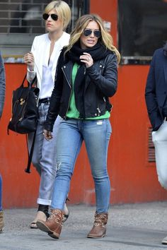 Hilary Duff out and about in New York City on May 1, 2013