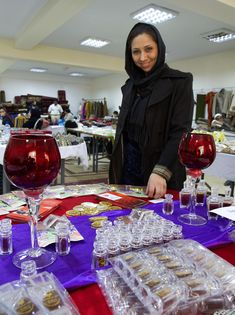 https://flic.kr/p/dJwpdu | Negin Saffron | Ms. Weeda Sarfarazy works for a Herat-based company called Negin Saffron. Saffron flourishes in western Afghanistan and is one of Afghanistan's many high-value agricultural products. In early December,  Afghan businesswomen from around the country gathered in Kabul for a two-day exhibition organized by USAID. The expedition gave Afghan businesswomen an opportunity to grow their businesses and contribute to their country's economy.