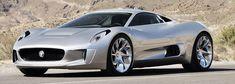C-X75 Jaguar super car concept: 206 mph, 0-62 in 3.4 sec., electric hybrid with twin jet turbines